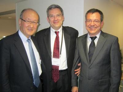 パリ大会会長P.Vielh先生_IAC_SecretaryGeneral_F.Schmitt先生との1枚.JPG