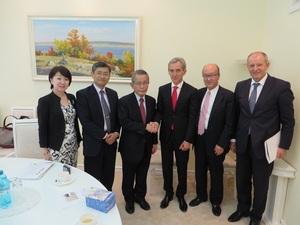 モルドバ共和国首相 Mr. Prime Minister Iurie Leanca 訪問.JPG